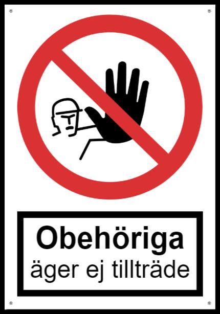 forbudsskyltar